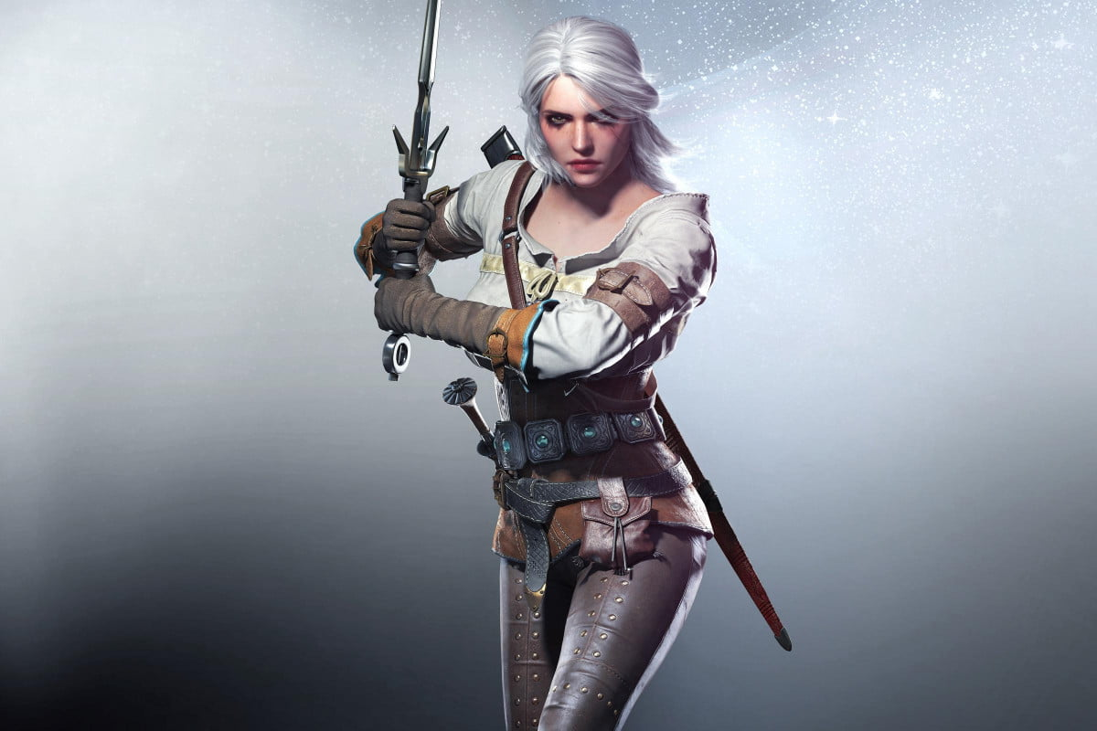 witcher  s second playable character living weapon watch ciri in the wild hunt wide