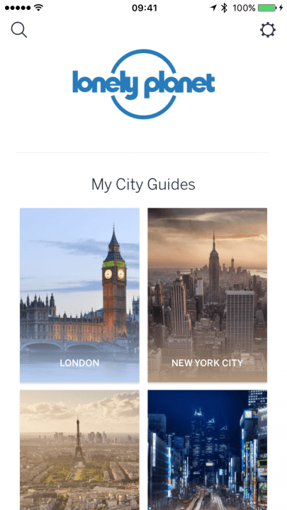 lonely planet guides app news cities list