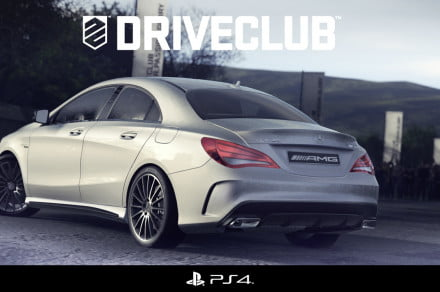 CLA 45 AMG in Driveclub