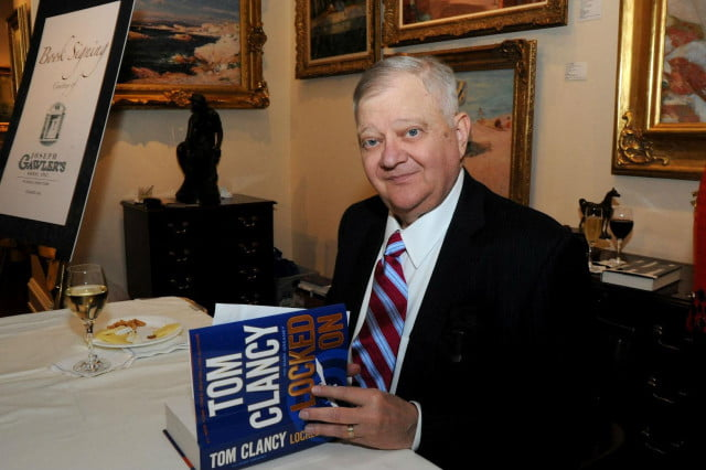 best selling author and branding genius tom clancy dead at  novel