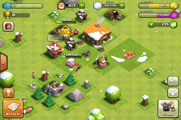 how analytics are turning games into distraction machines clash of clans screenshot