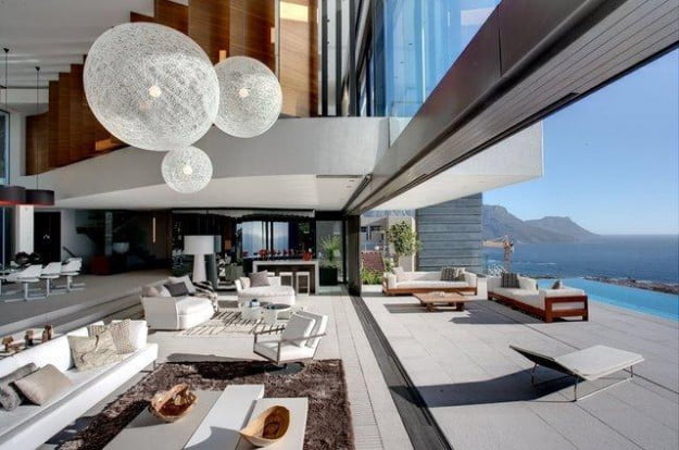clifton house at south africa by Saota
