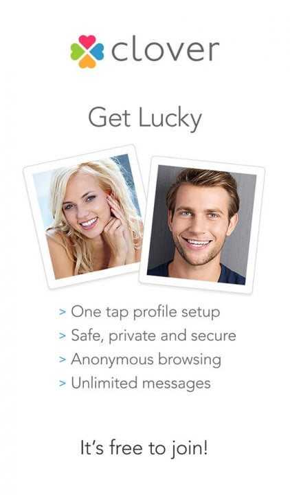 Who is the clover dating app girl
