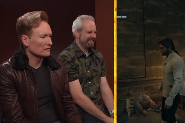 frenchmen british accents conan says thinking assassins creed unity clueless