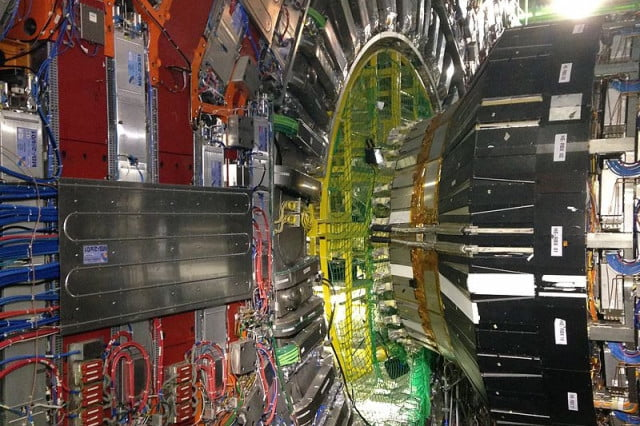 china particle collider cms cavern lhc cern