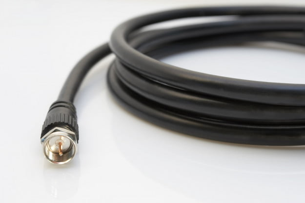 Coax TV Cable