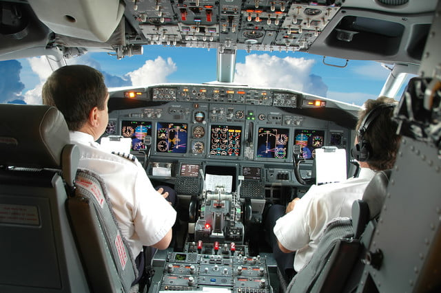 delta to provide  pilots with surface cockpit