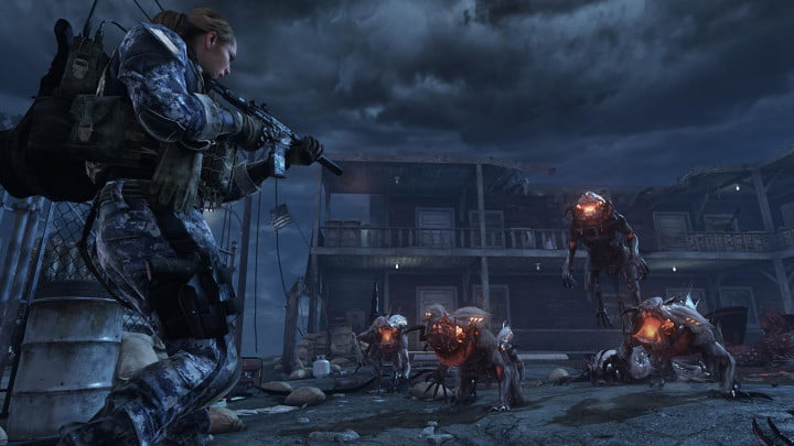 call of duty ghosts review cod extinction made it out alive next gen