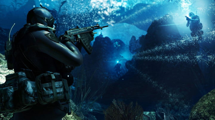 cod ghosts producer shares whats in and out for the next gen shooter underwater ambush