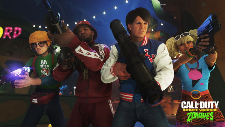 call of duty infinite warfare zombies in spaceland hands on cod