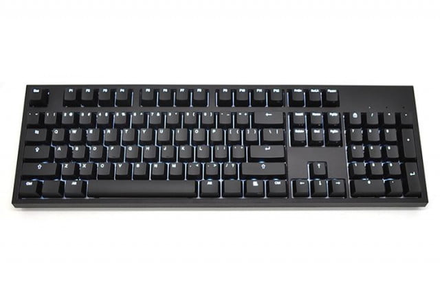code keyboard offers mechanical keys without the annoying noise  bright backlit