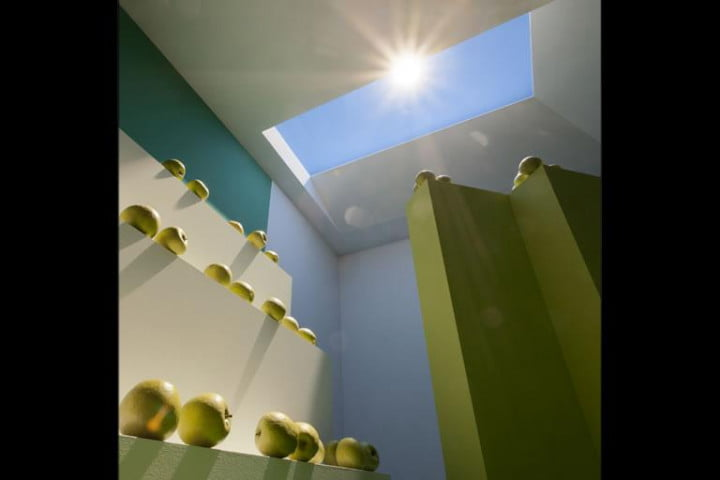 new led panel technology uses nanoparticles accurately mimic daylight coelux