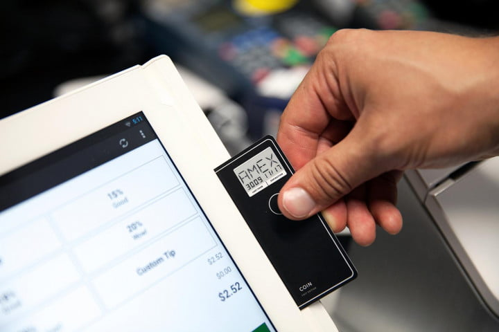 hands on with the coin credit card payment system
