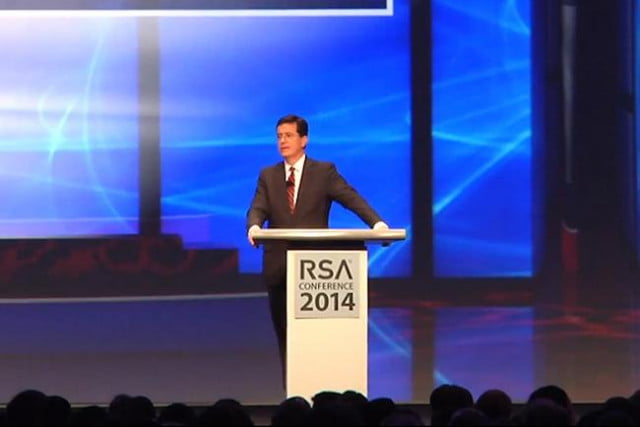 stephen colbert rsa conference  keynote video