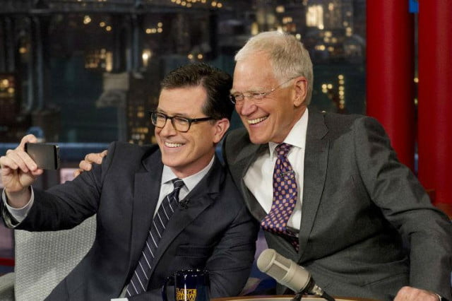 cbs stephen colbert late show david letterman colbertletterman