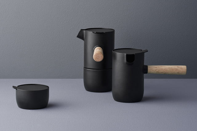 stelton debuts stylish collar coffee collection