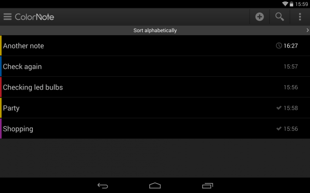 ColorNote_Android_tablet_app_screenshot