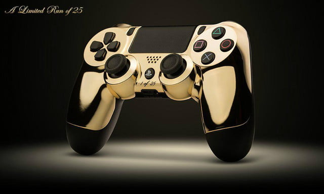 guess much solid gold playstation  xbox one controllers sold colorware controller