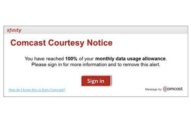 comcast data caps now apply to arkansas louisiana tennessee and virginia comcastnotice