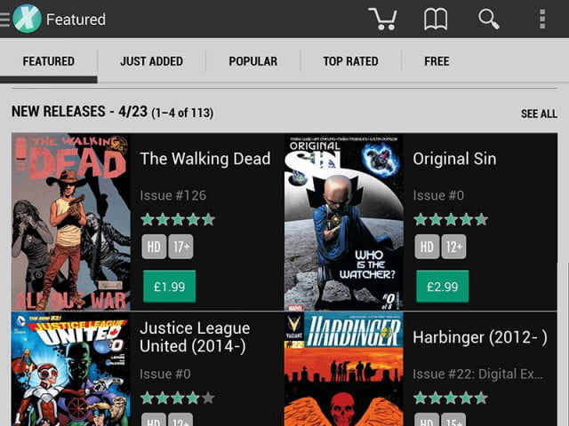comixology pulls app purchases cut apple google