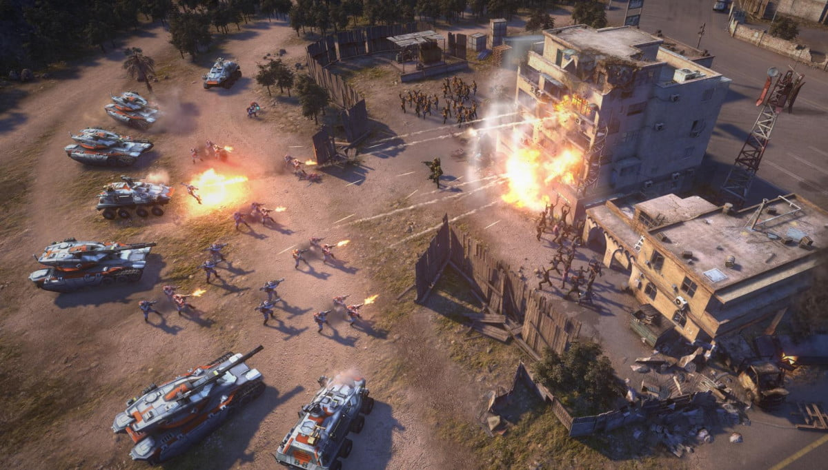 command conquer f p game cancelled developer victory studios shut and