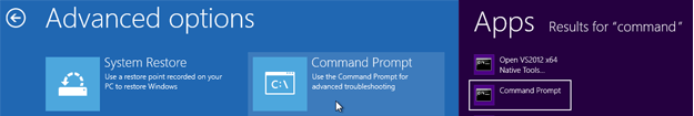Command Prompt Windows 8