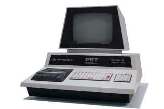 A typical Commodore PET.