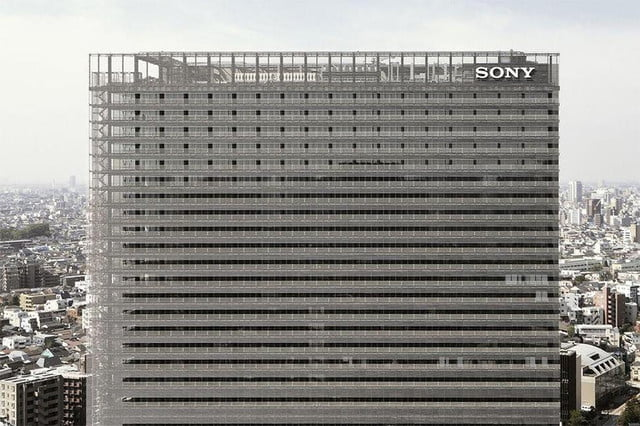 seven companies get left behind  sony building