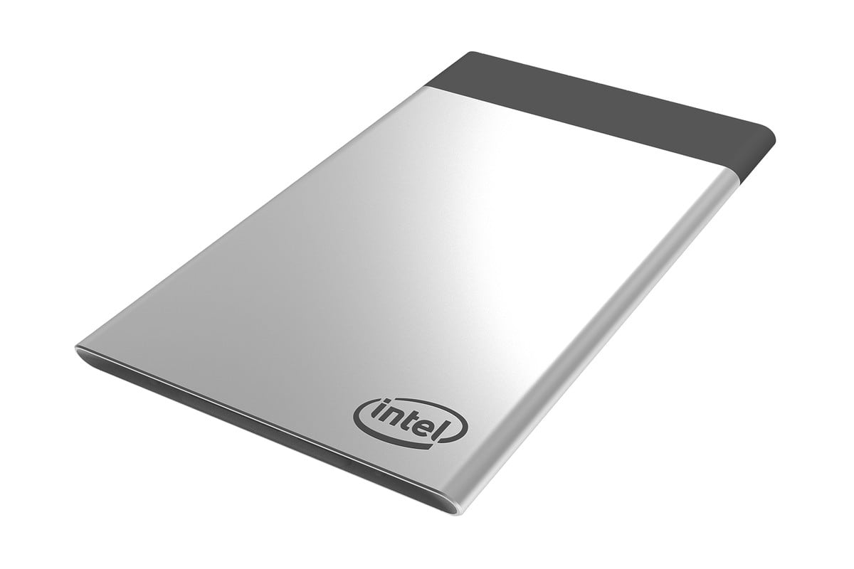 intel compute card ces  side angled