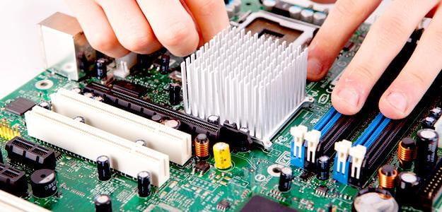 computer components processor cooler pc