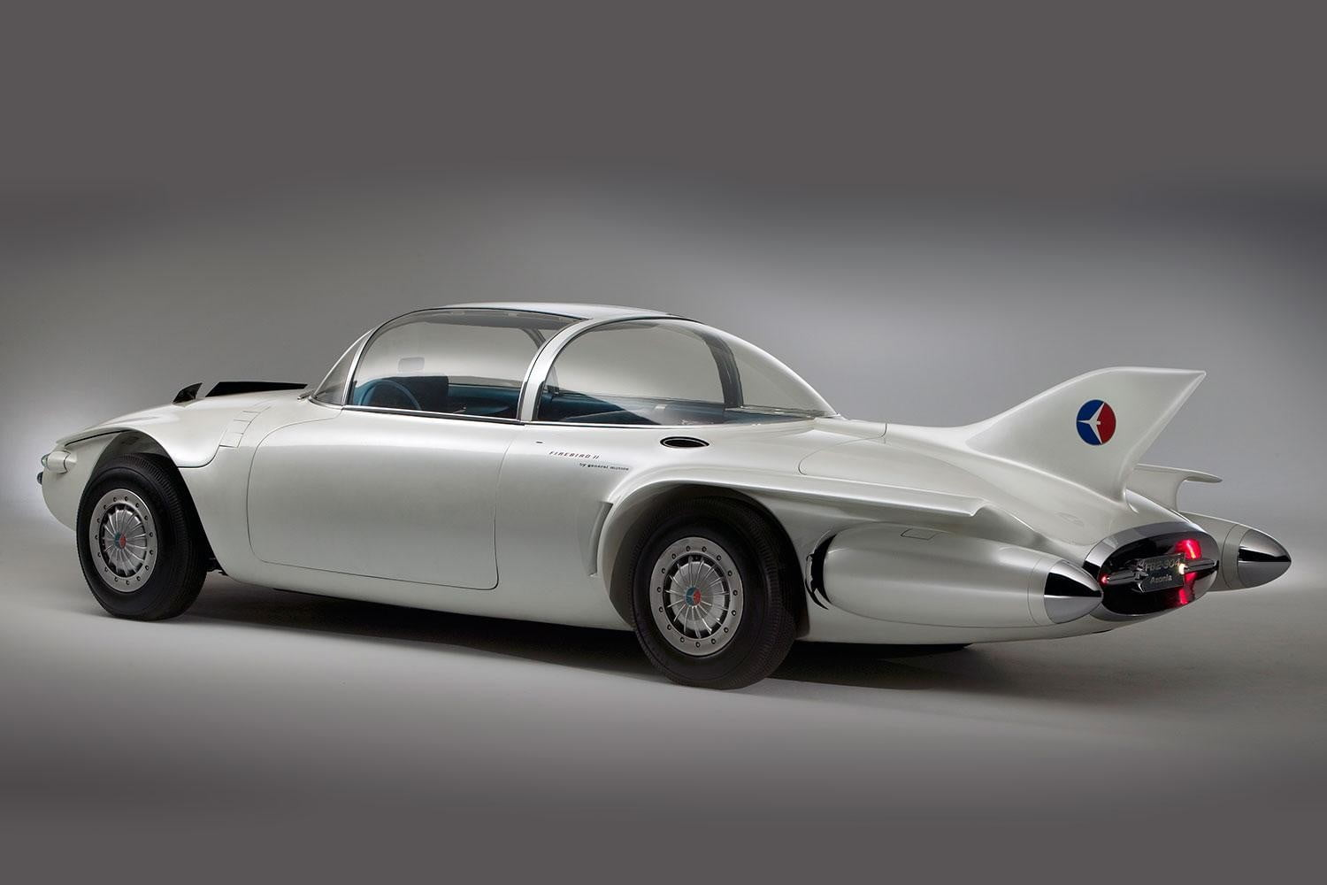 Concept cars of the past 1956 GM Firebird II