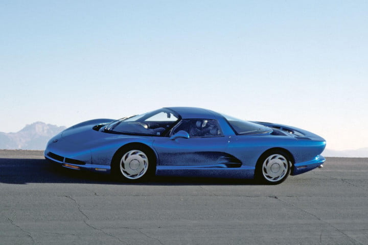Concept cars of the past CERV III