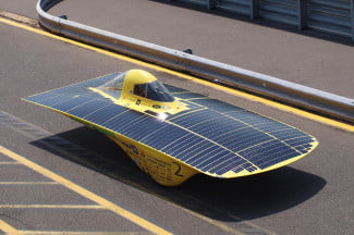 Concept cars of the past Solar Car