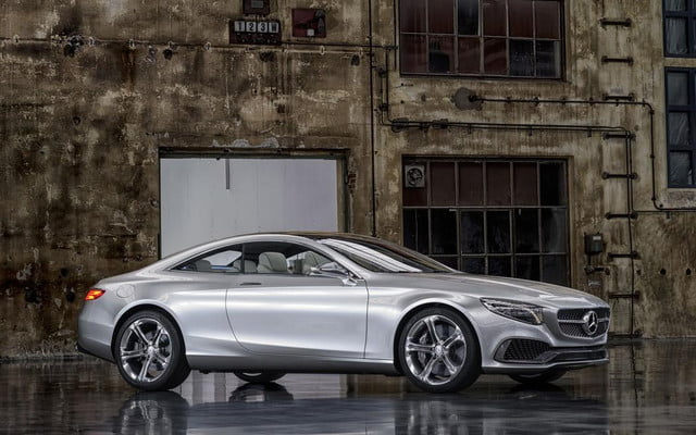 frankfurt motor show  mercedes benz dazzles with new concept s class coupe