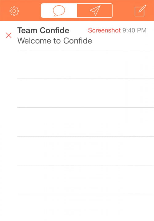 confide app review
