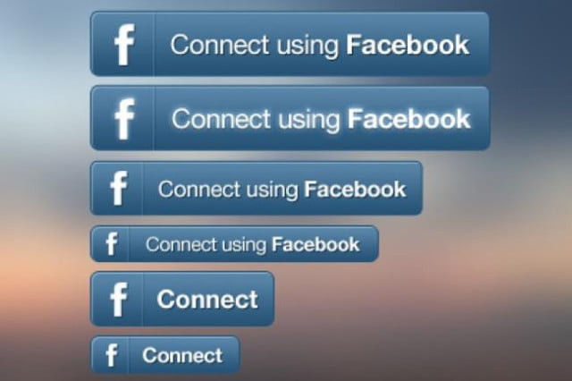 internet users prefer use facebook logins signing new online accounts connect with button