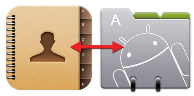 How to transfer your contacts between iPhone and Android