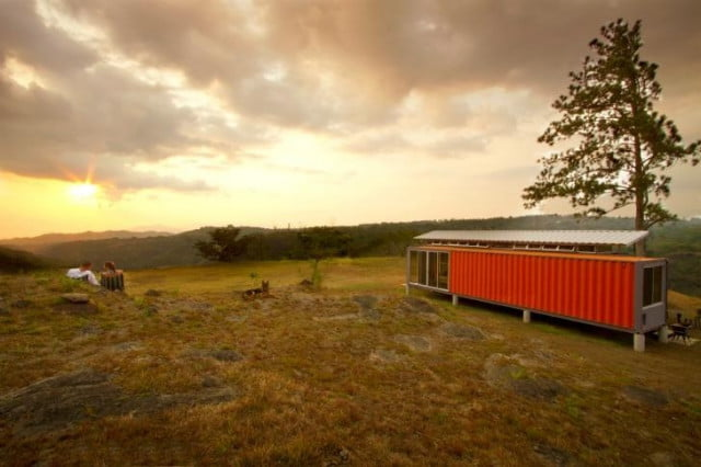 An efficient container home in Costa Rica