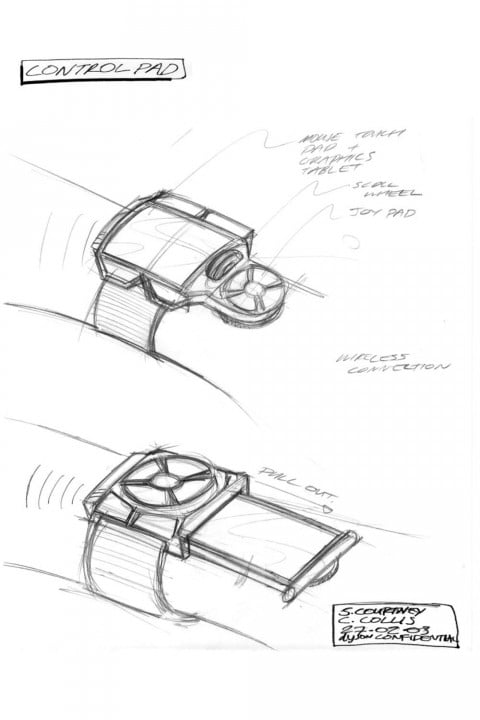 james dyson nearly invented google glass back  control pad concept