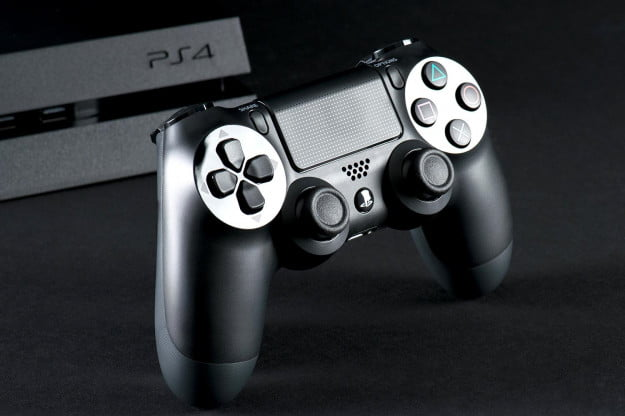 sony playstation 4 controller front