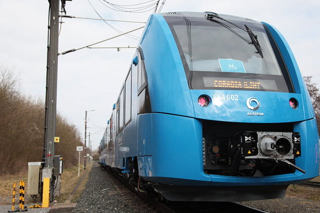 hydrogen fuel cell train coradia