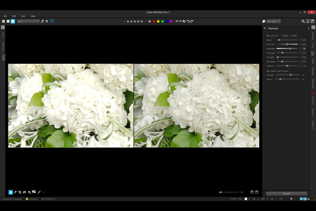 corel aftershotpro  announced highlight recovery