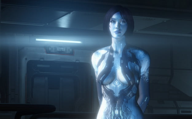 Cortana played by Mackenzie Mason
