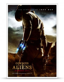 Cowboys Aliens Poster