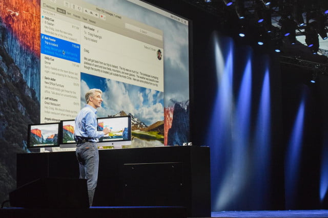 leak suggests siri to debut on max os x craig mac el capitan