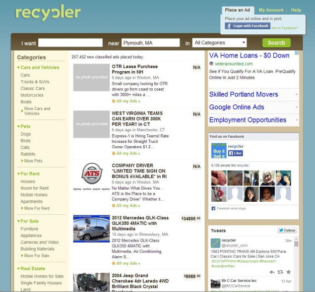 craigslistalternatives_recycler