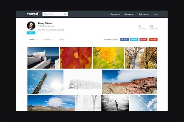 crated is newest online photo market