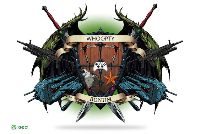 xbox reign of you  crest
