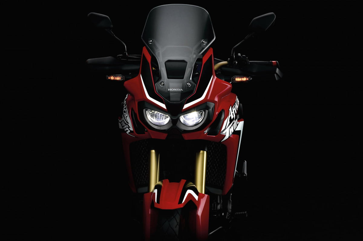 honda answers adv riders prayers with new africa twin  teaser crf l adventure front