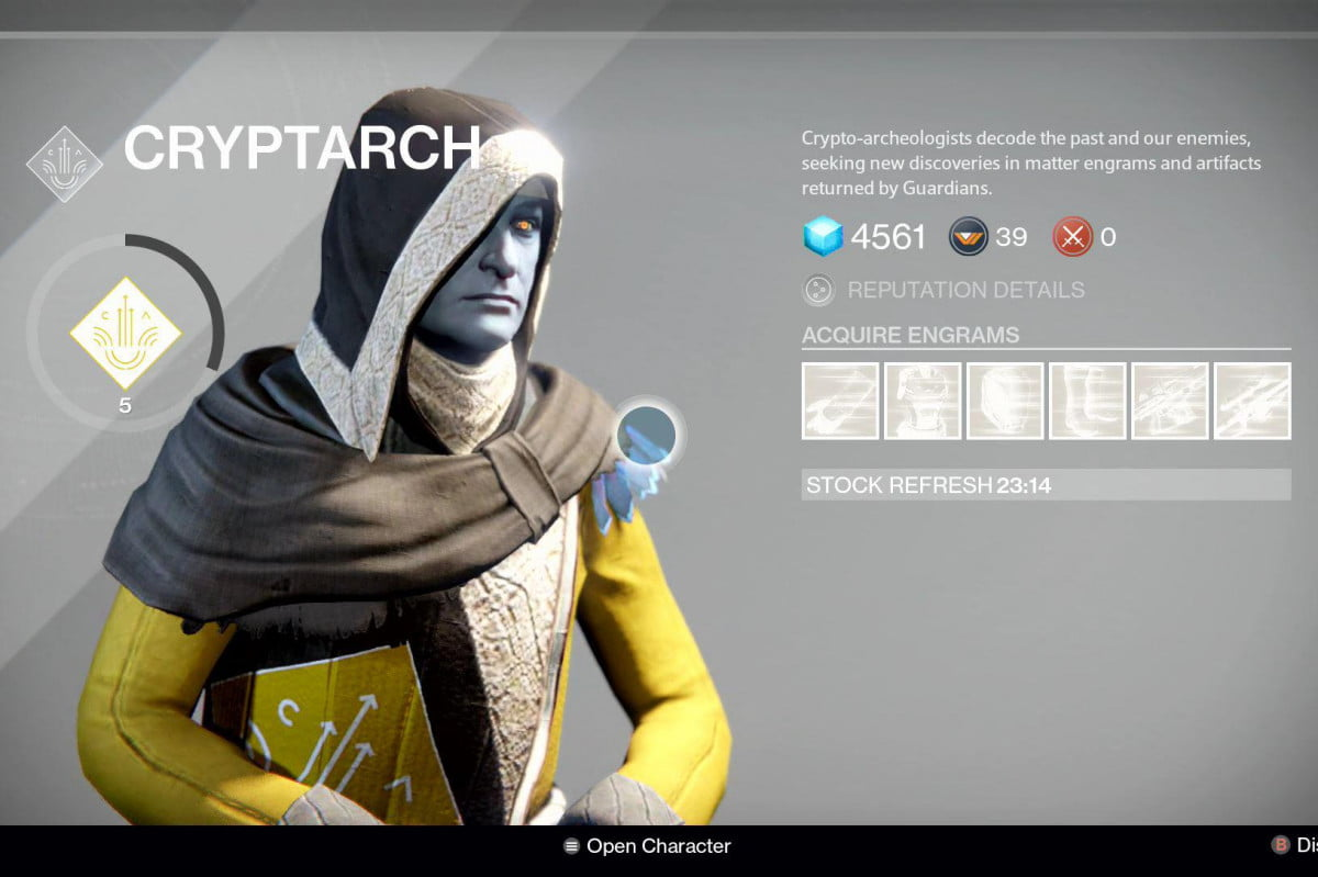 destiny patch ensures legendary drops better purple engrams cryptarch